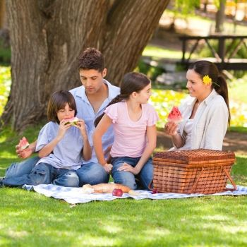 Ideas saludables para comer al aire libre con los niños