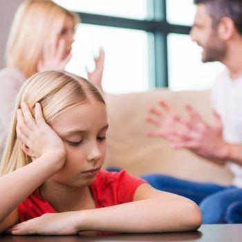 La custodia de los niños tras la separación de los padres