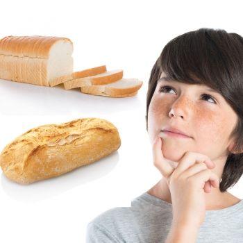 Pan de molde o pan tradicional, ¿cuál es el más sano para niños?