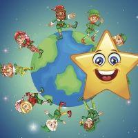 La estrella Ara y el planeta de Halacer. Cuentos de fantasía para niños