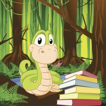 La culebra Debra. Un cuento infantil sobre el placer de leer