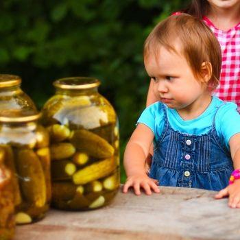 Conservas caseras y botulismo infantil