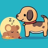 El ratoncito y el perro. Poemas para niños de animales