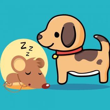 El ratoncito y el perro