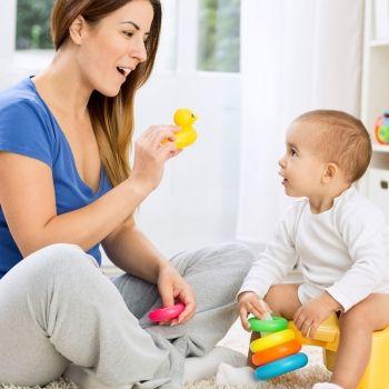 Juegos para ayudar a hablar al bebé