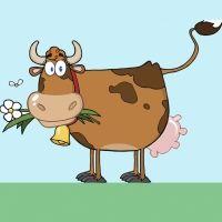 La vaca y la mosca. Poemas infantiles divertidos