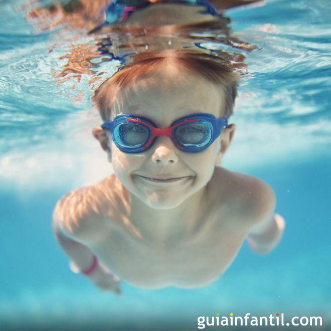 Cuidados del o do de los ni os en la piscina for Piojos piscina