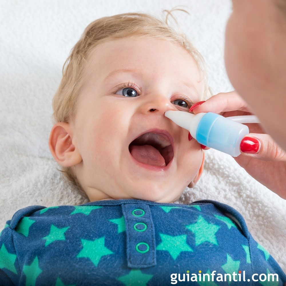Remedios caseros para nariz congestionada en bebes