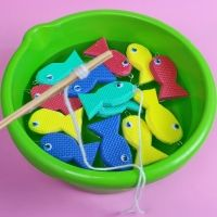 Juego pesca el pez. Manualidades para niños