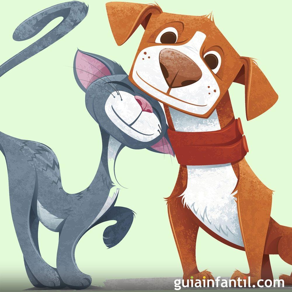 El Perro Y El Gato Poema Infantil Sobre Animales