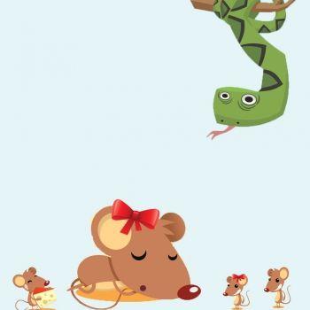 La ratita digna. Cuento con valores para niños