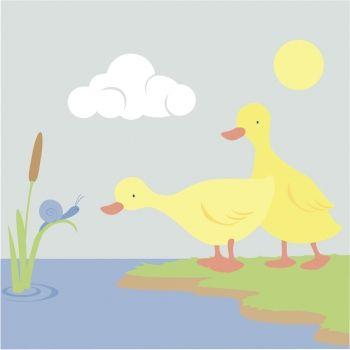 Cua, cua. Poesía corta de animales para niños