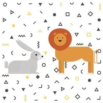El León y la liebre