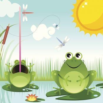 El sol y las ranas