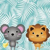 The lion and the mouse. Fábula en inglés para niños