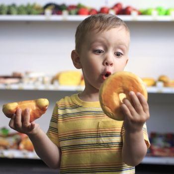 Niños que quieren comer a todas horas
