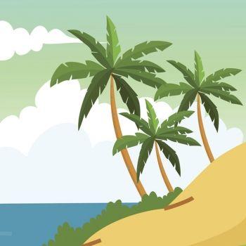 Las tres palmeras. Poemas infantiles con moraleja