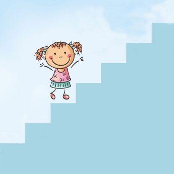 El método de la escalera para motivar a los niños a hacer los deberes