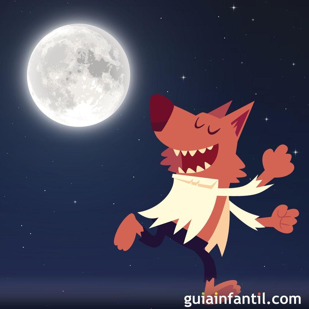 El Hombre Lobo Cuento De Halloween Para Ninos