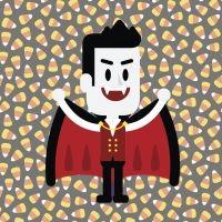 Drácula: un vampiro sin colmillos. Cuento de Halloween para niños