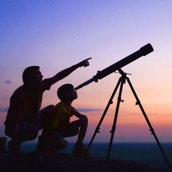 Cómo enseñar a los niños a mirar las estrellas