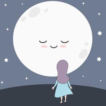 Felicia y la luna. Cuento sobre la felicidad