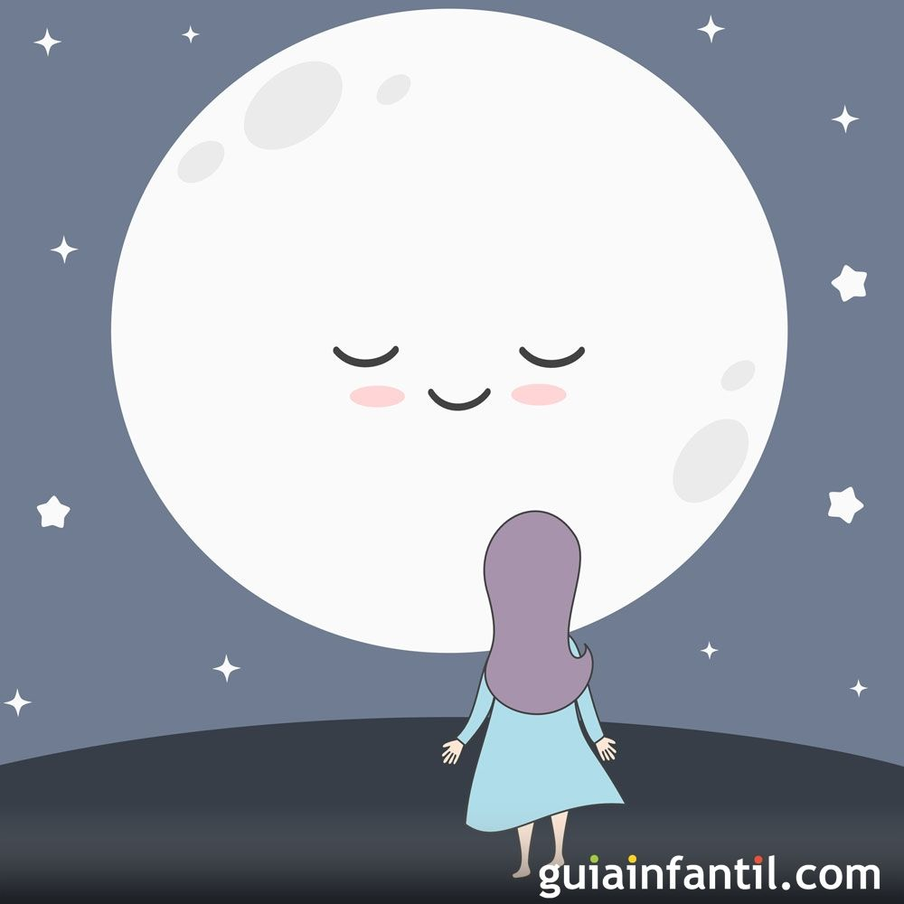 Felicia Y La Luna Cuento Para Niños Sobre La Felicidad