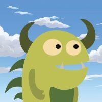 El monstruo Merlin. Un cuento de monstruos para niños