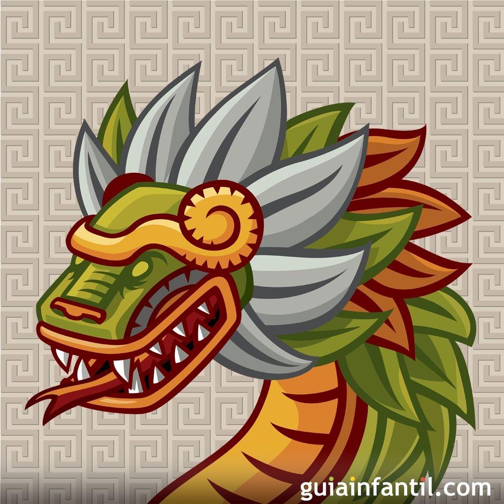 Quetzalcóatl. Leyenda mexicana para niños  Quetzalcóatl. ...