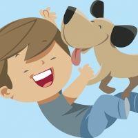 Historia de la perrita Noa. Cuento para niños de perros