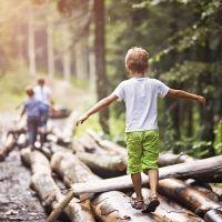 Beneficios de la naturaleza en los niños