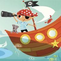 El barco del capitán Leo. Cuento infantil sobre la imaginación