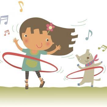 Baila con el hula hoop. Canción de Enrique y Ana para los niños