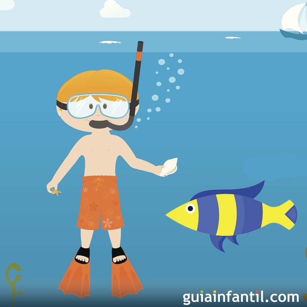 Hugo y el pez azul. Cuento para niños sobre la imaginación