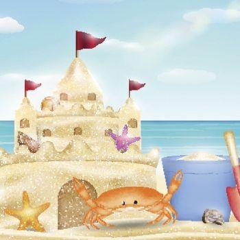 El castillo de arena. Poemas infantiles que cuentan historias