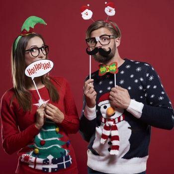 Ideas de complementos caseros de Navidad