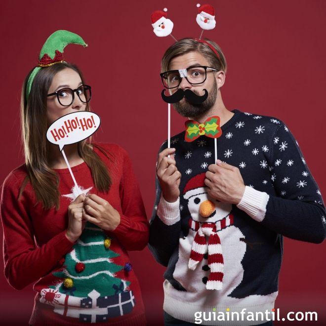 Ideas para complementos caseros de Navidad para niños
