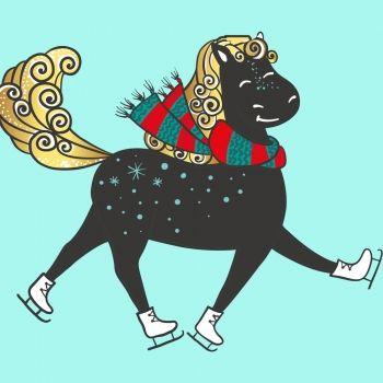 El caballo con patines. Poemas divertidos para niños