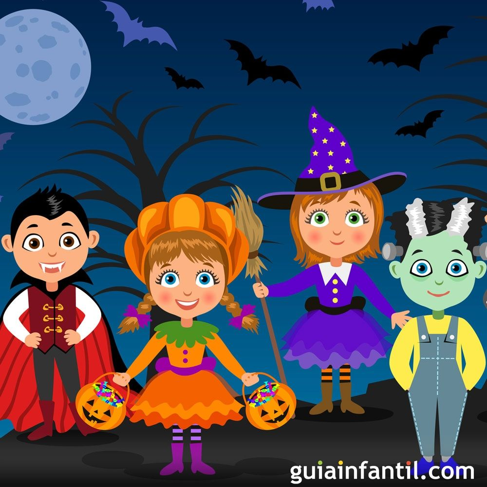 Truco o trato. Poesía de Halloween para niños