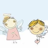 Destino el cielo. Cuento de ángeles para niños