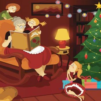Refranes para niños en Año Nuevo y Navidad