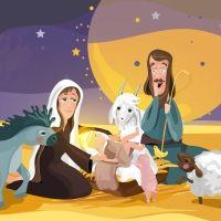 El rey dormilón. Poema para niños de Navidad