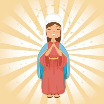 De cuán graciosa y apacible era la belleza de la Virgen