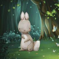 Por el bosque vi una liebre. Canción para jugar con los bebés