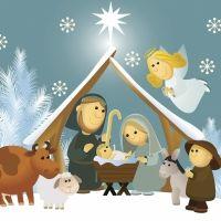 Niño en luz de estrellas. Poema de Navidad para niños