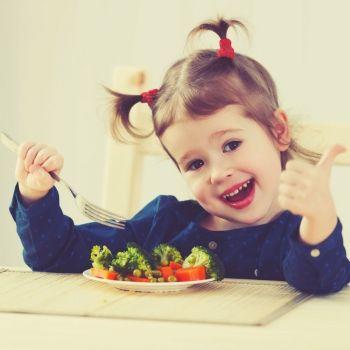 Los superpoderes de las verduras para los niños