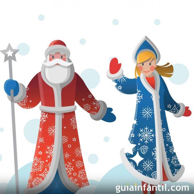 La doncella de la nieve. Leyenda rusa de Navidad para niños