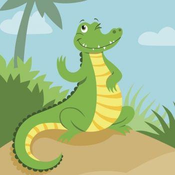 La excursión de los cocodrilos. Poesía divertida para niños