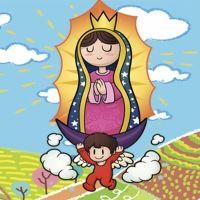 La bonita historia de la Virgen de Guadalupe
