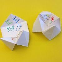 6 ideas diferentes para hacer comecocos para los niños